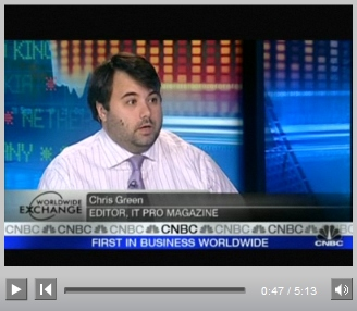 Chris on CNBC talking about the iPhone 3G