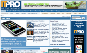 New look IT PRO web site - www.itpro.co.uk