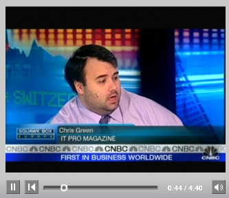 Chris on CNBC discussing top gadgets and consoles for Christmas 2008