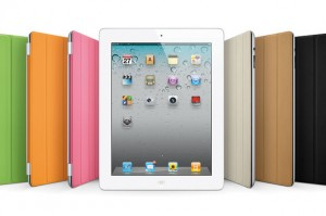 <b>Apple's iPad 2 offers many improvements over the original, including front and rear cameras, as well as a magnetic screen cover and magent-controlled sleep mode, similar to that found on RIM's BlackBerry devices.</b>